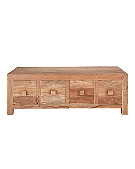 Java 8 Drawer Storage Coffee Table