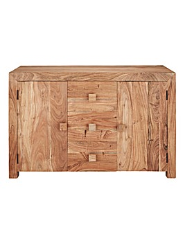 Java Acacia Assembled Large Sideboard