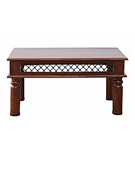 Jaipur Solid Sheesham Wood Coffee Table