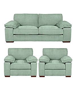 Country Collection Harrow 3 Sofa Plus 2 Chairs
