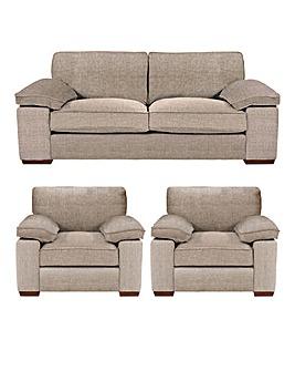 Harrow 3 Sofa Plus 2 chairs