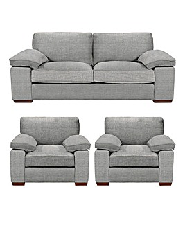 Harrow 3 Sofa Plus 2 chairs