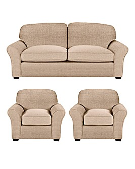 Newbury 3 Sofa plus 2 Chairs