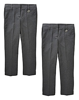 Older Girls Pack of Two Trousers G