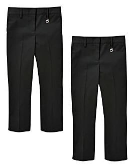 Older Girls Pack of Two Trousers S