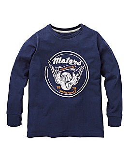 KD Boys Long Sleeve Print Front T-Shirt