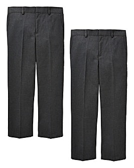 Older Boys Pack of Two Trousers S