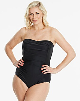 Magisculpt Black Bandeau Swimsuit