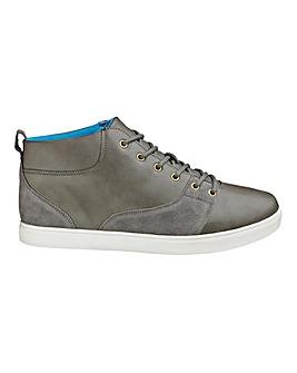 Jacamo Mid Lace-Up Casual Shoes Ex Wide