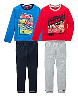 Cars Pack of Two Pyjamas