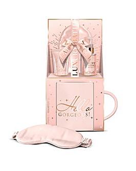 Luxury Bathing Company Gorgeous Mug, Bath & Body Gift Set