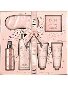 Luxury Bathing Company Sleeping Beauty Eye Mask Gift Set