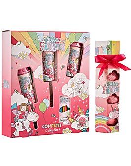 Glitter Fairies Unicorn Bath Set