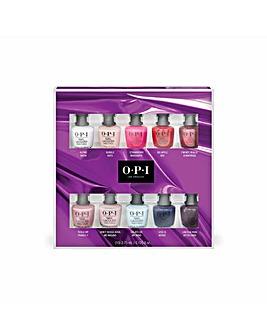 OPI Christmas 21 10 pc Mini Set