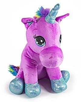 Unicorn Sitting Plush - 40cm