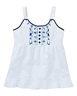 Joe Browns Girls Embroidered Cami Top