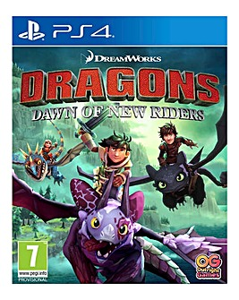 Dragons Dawn of the New Riders - PS4