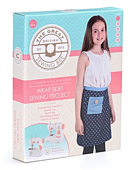 Great British Sewing Bee Wrap Skirt Kit