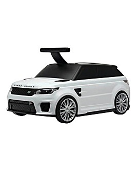 Range Rover Ride-On Suitcase - White