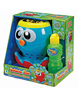 Battery Operated Bubble Octopus