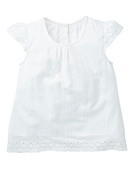 KD Girls Broderie Blouse