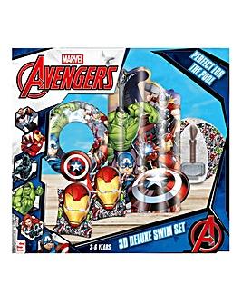 Marvel Avengers Deluxe Swim Set