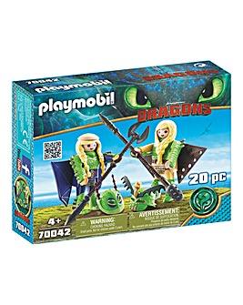Playmobil 70042 Ruffnut & Tuffnut