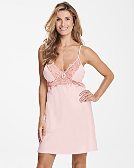 Ella Lace Blush Slip