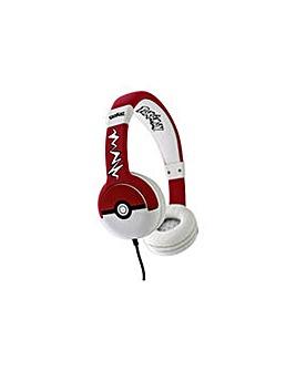 Pokemon Pokeball Kids On-Ear Headphones