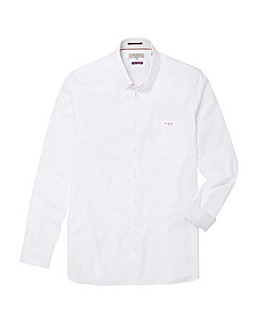 Ted Baker Tall End On End Long Sleeve Shirt