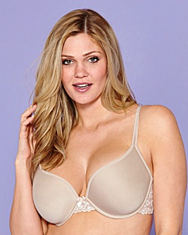 Naturally Close T Shirt Wired Spacer Bra Natural