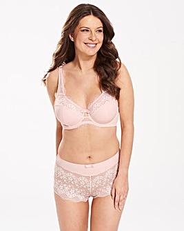 2Pk Lottie Lace Hot Pink/Pale Pink Bras
