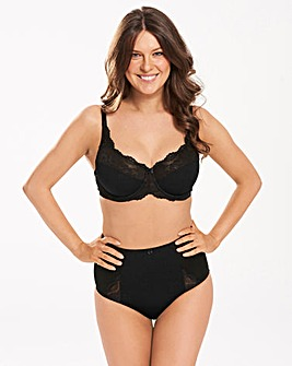 Ruby Black Minimiser Bra