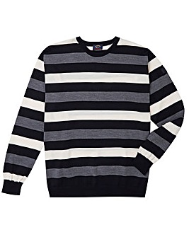 Paul & Shark Mighty Striped Jumper
