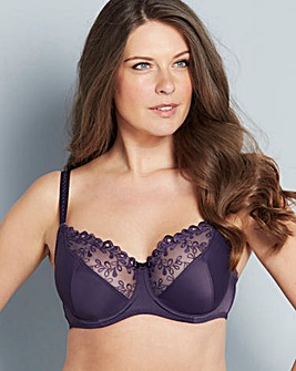 Playtex Romantic Elegance Full Cup Purple Bra