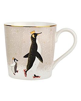 Sara Miller Penguin Mug