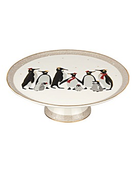 Sara Miller Penguin Footed Cake Plate