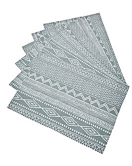 Aztec Set of 6 Table Placemats