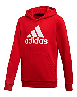 Adidas Younger Boys Badge Hoodie