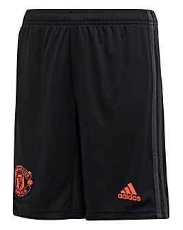 MUFC Adidas 3rd Junior Shorts