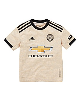 Manchester United adidas Away Short Sleeve Junior Jersey