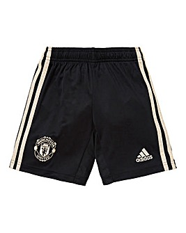 MUFC adidas Away Junior Shorts