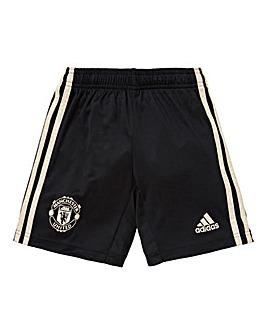 MUFC adidas Away Junior Shorts