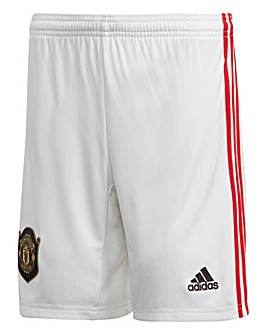 MUFC Adidas Home Junior Shorts