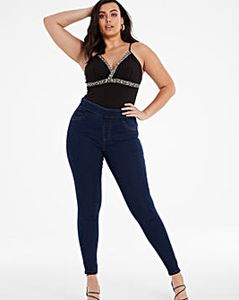 Indigo Sculpting Skinny Jeggings