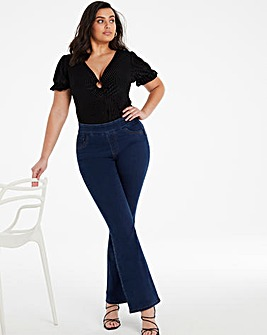 Sculpt & Define Indigo Bootcut Jeggings