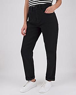 24/7 Black Boyfriend Jeans