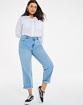 Riley Stonewash Slouch Boyfriend Jeans