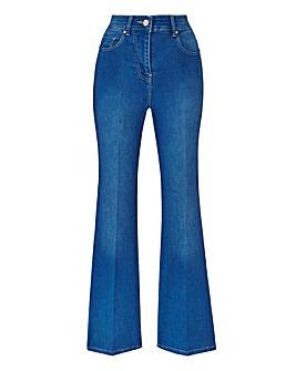 Blue Kim High Waist Super Soft Bootcut Jeans