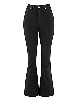 Black Kim High Waist Super Soft Bootcut Jeans